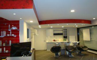 Rénovation salon de coiffure Profil Coiffure à Rouvroy